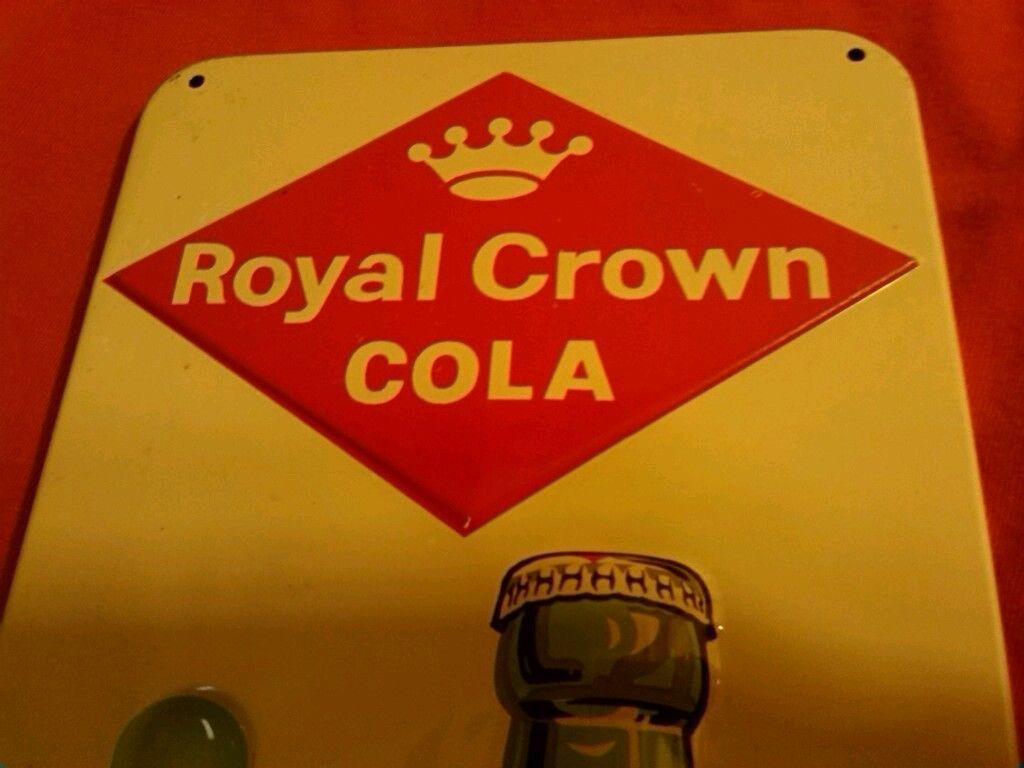 1960 Royal Crown Cola Rc Soda Advertising Thermometer Tin Pop Sign No Dr Pepper Ebay Advertising Thermometers Advertising Signs Cola