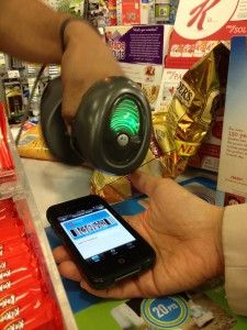 """""""When you check out and the cashier asks you for your Duane Reade balance™ reward card, you don't have to spend minutes fishing for it in your wallet. All you have to do is take out your iPhone and show them your uploaded card."""" #DRApp conveniences - making New York living easier!"""