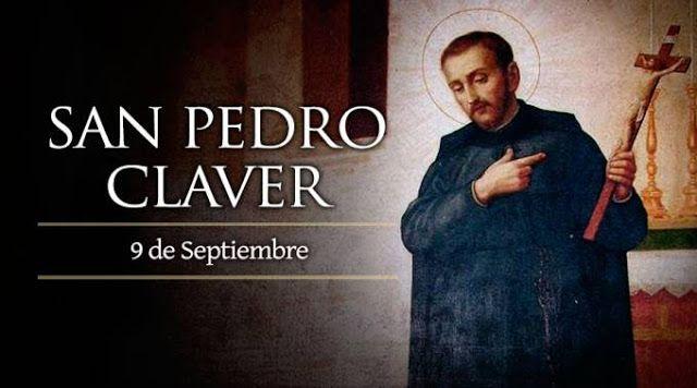 Santoral Catolico San Pedro Claver 9 De Septiembre 9 De