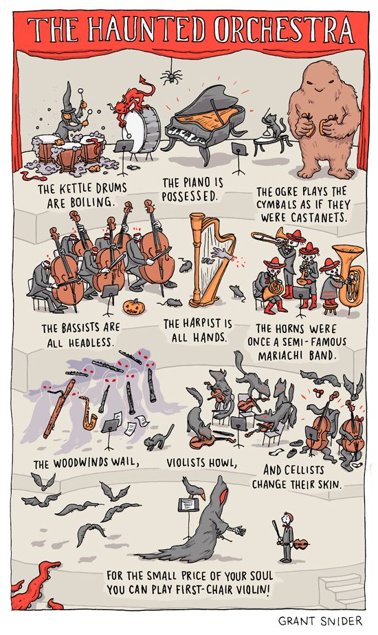 Happy Halloween! The Haunted Orchestra