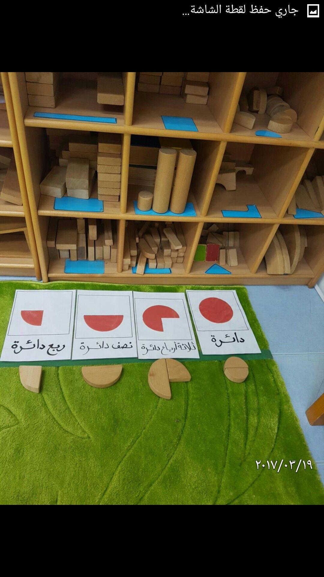 اثراء ركن المكعبات يكون الطفل الدوائر باستخدام الاشكال المناسبة Kids Education Fish Crafts Early Childhood