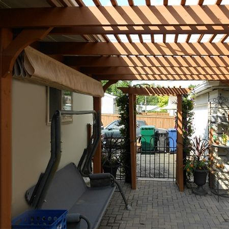 Make Your Own Retractable Shade Awning By Creating Pockets For Steel Or  Wood Bars. A Steel Ring At The End Of The Bars Allow The Awning To Slide  Along Steel ...