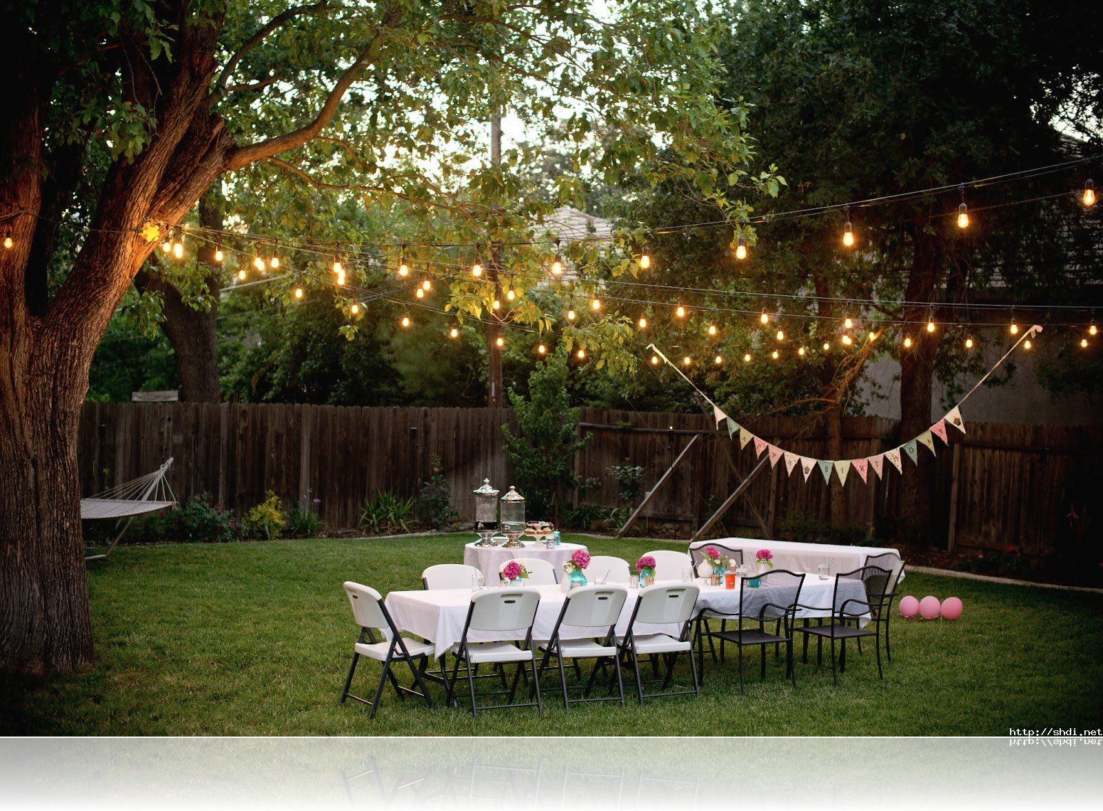 Engagement Party Ideas Outside