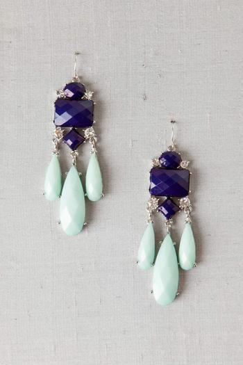 Copenhagen Jeweled Chandelier Earrings | Earrings. | Pinterest ...