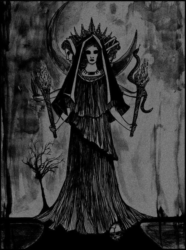 Hecate Witchy Pinterest Divine Feminine Deities And Mythology