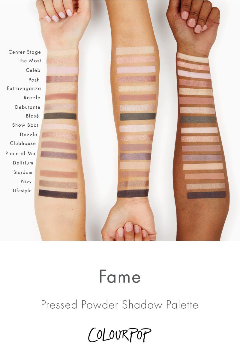 Fame Eyeshadow Palette by Colourpop #10