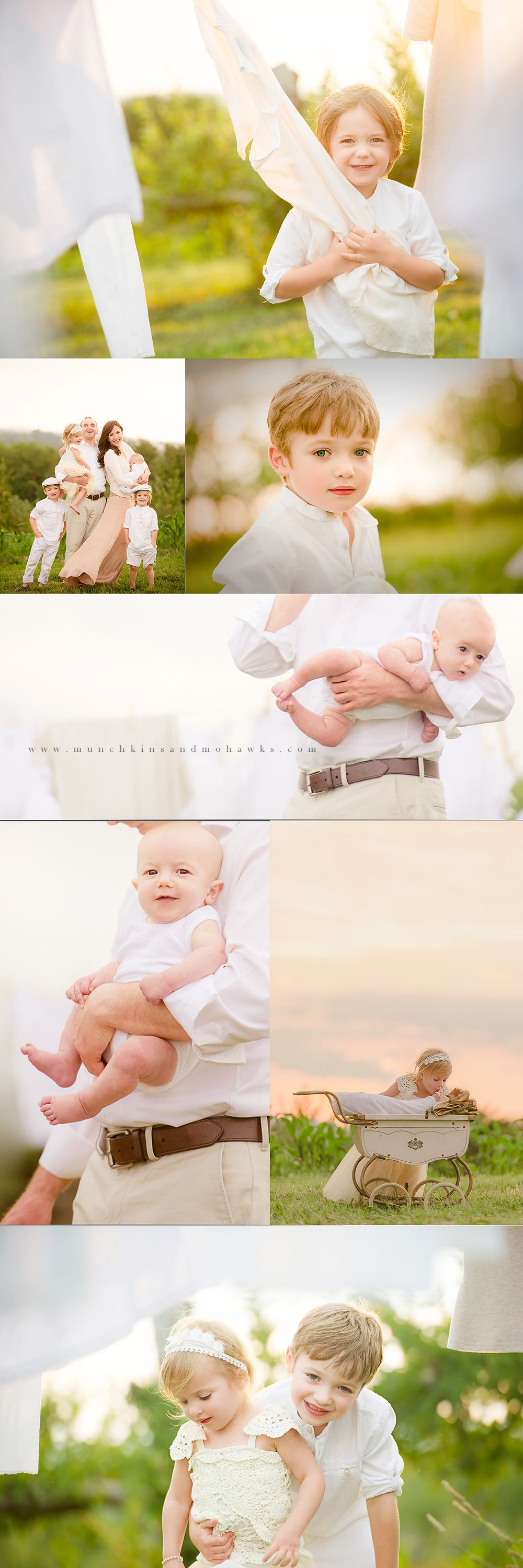 The Laundry Shoot | Pittsburgh Professional child and family photographer