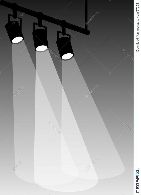 Stage Lights White