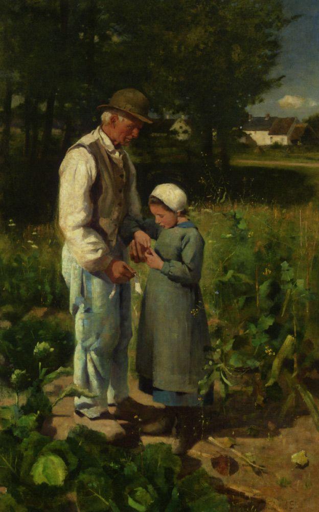 Edward Stott, In the Fields