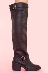 Morgan Boot - Jeffrey Campbell  So simple!