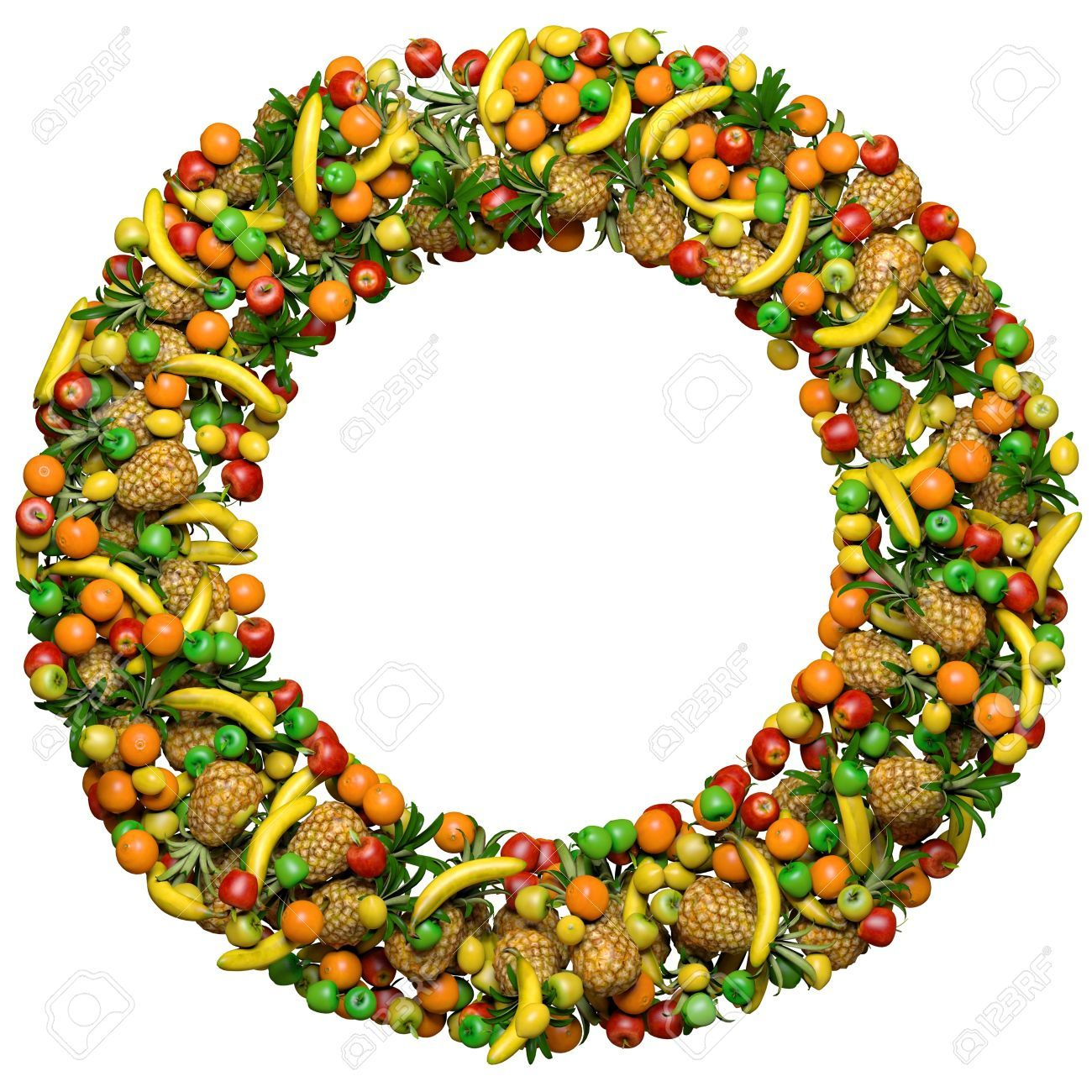 5 letter fruit 11809635 letter o or number zero made from 3d fruits 20225