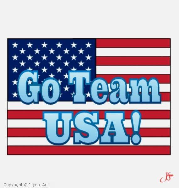 JLynn Art: Go Team, USA!