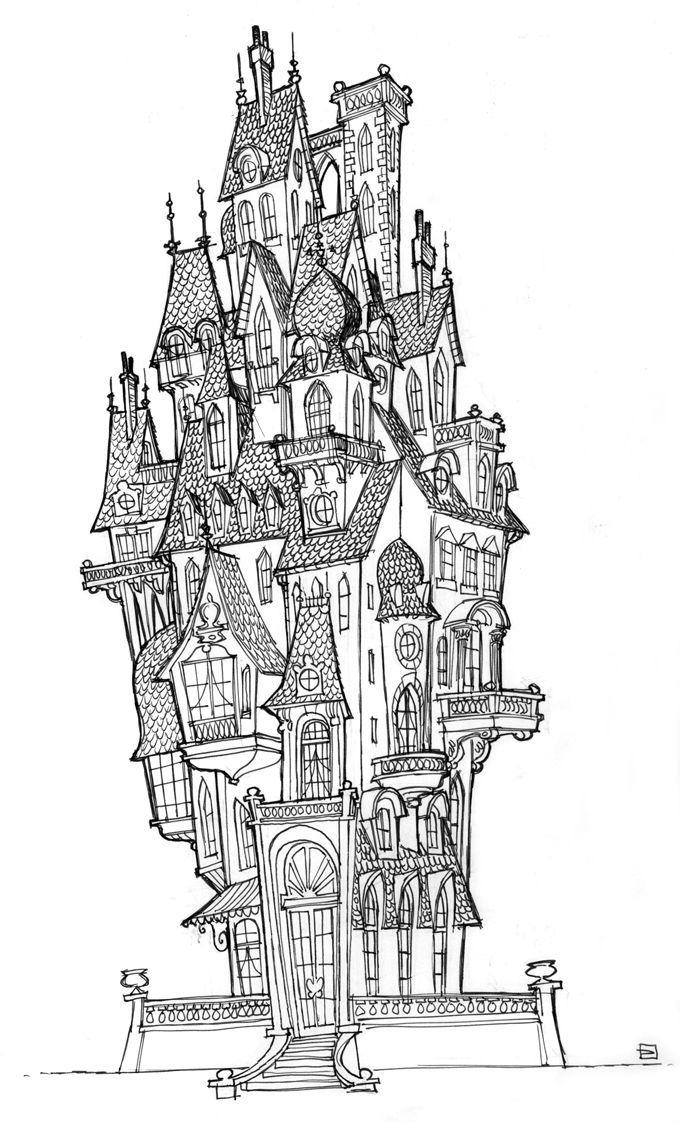Living Lines Library: Hotel Transylvania (2012) - Visual Development ...