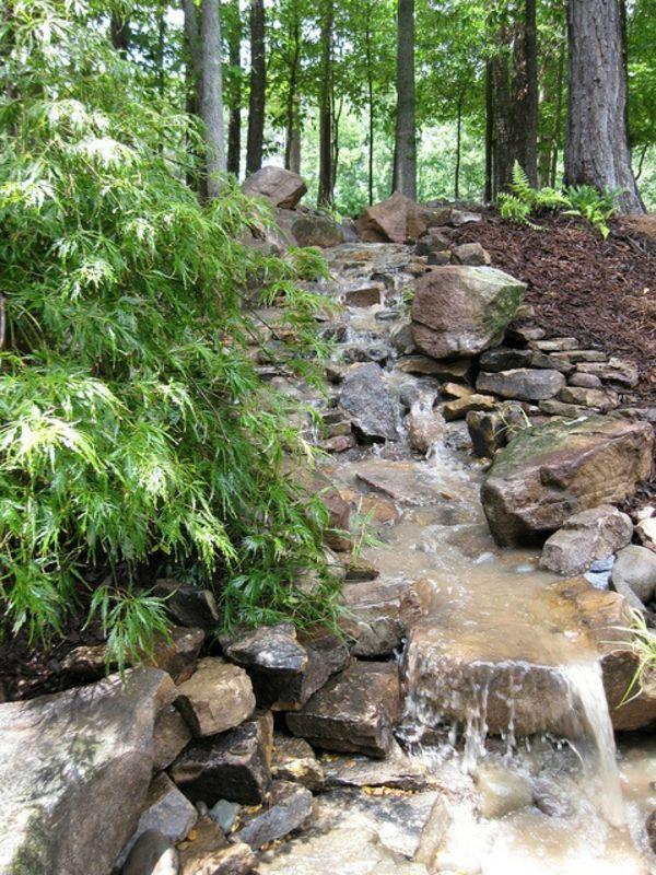 Cascade et fontaine de jardin , 69 déco pour les moments de relaxe - estanques artificiales