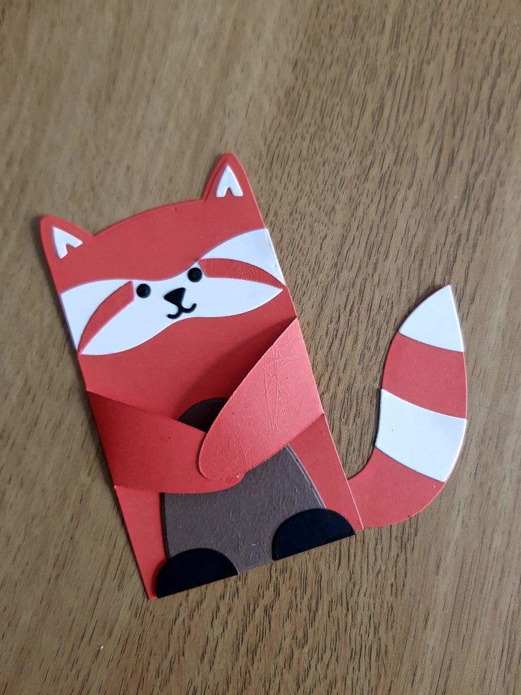Lawn Fawn Woodland Critters Red Panda Panda Craft Panda Card Safari Kids Crafts