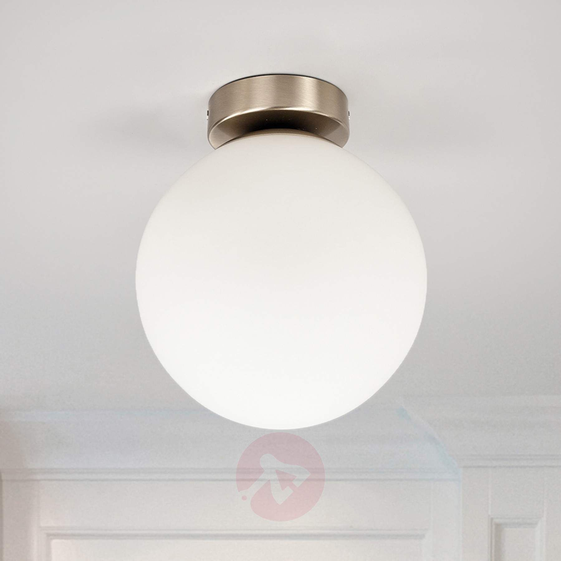 Round Bathroom Ceiling Light Lennie Taklampe Takbelysning Armatur