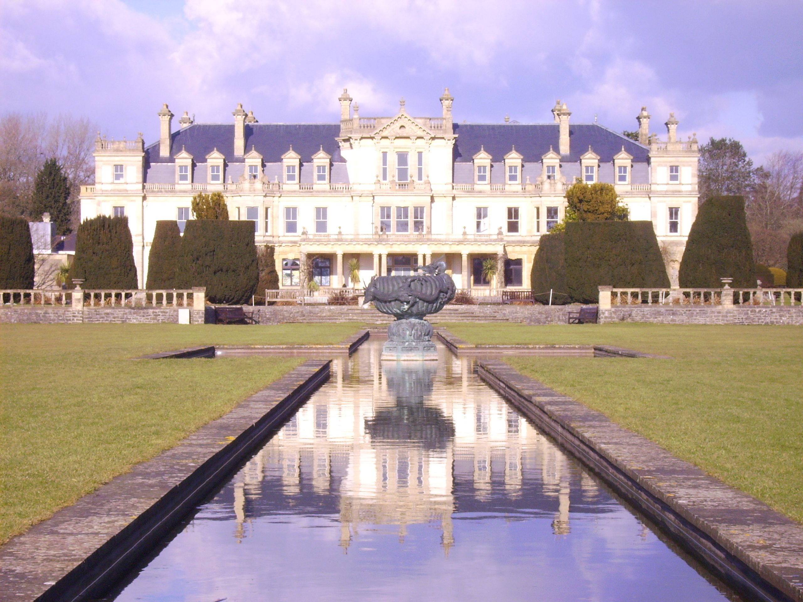 Cardiff dyffryn house gardens the most beautiful gardens in wales world traveler - Most beautiful manors romania ...