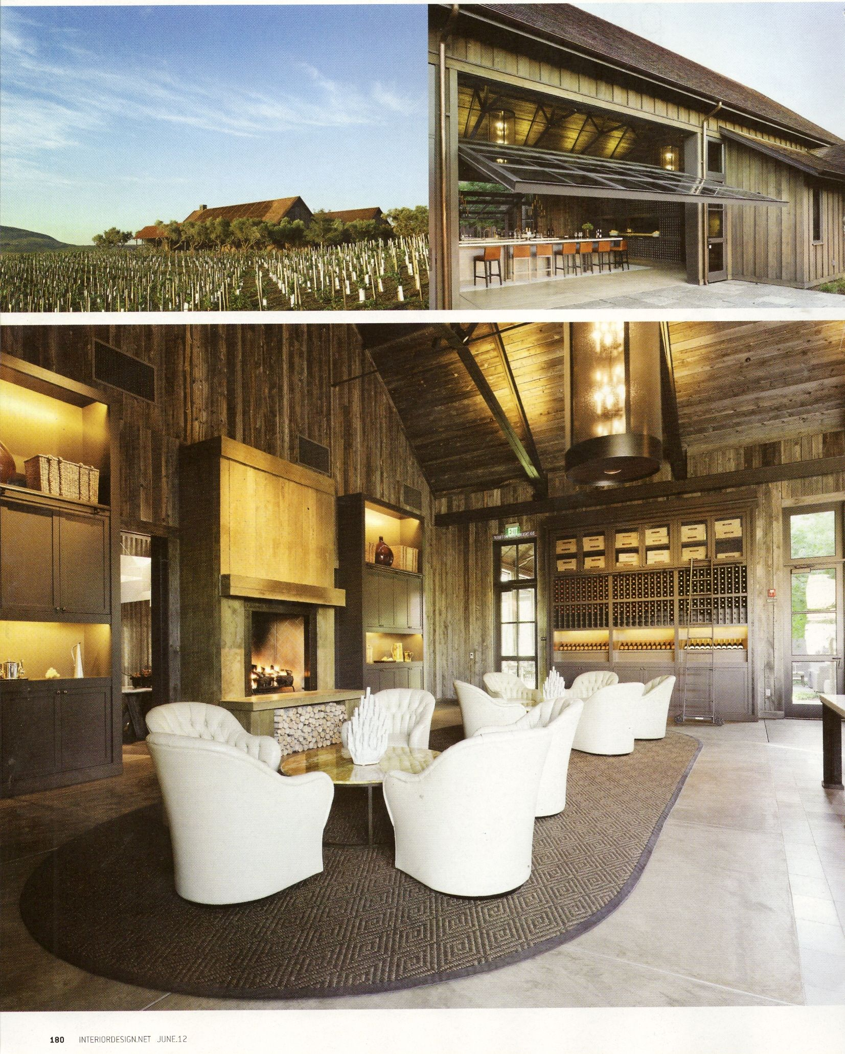 Ram's Gate Winery, how they feature the design worthy of its location and environment
