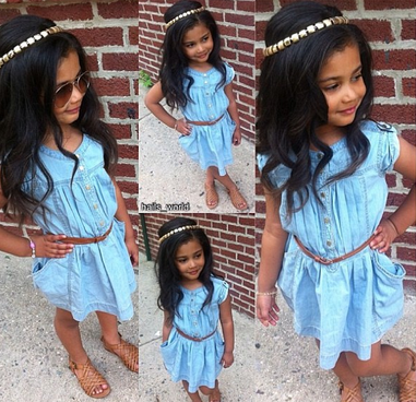 buy online 64f95 e9675 Baby Got Style: 10 Stylish Kids to Follow on Instagram ...