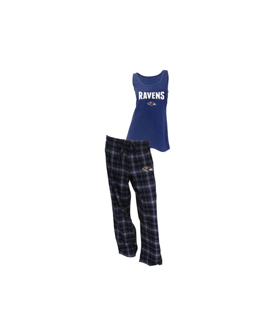 92855121 College Concepts Women's Baltimore Ravens Tank and Pajama Pants Set ...
