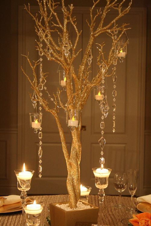image result for gold and silver table decorations hannukah party rh pinterest com