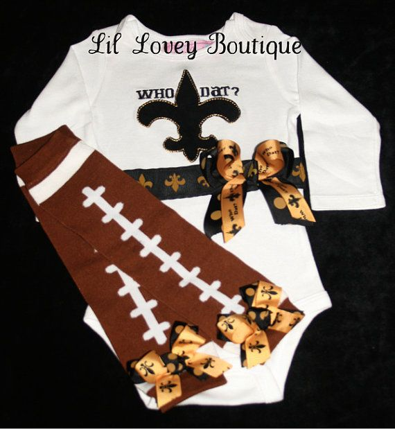 who dat   football season is cominggo saintswho dat2pc by lilloveyboutique   52 00