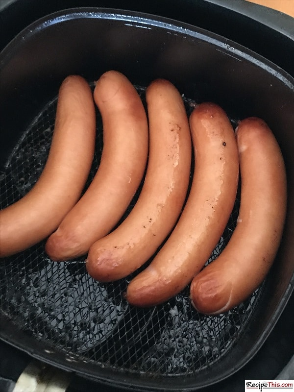 Air Fryer Frozen Hot Dogs Recipe This Recipe in 2020