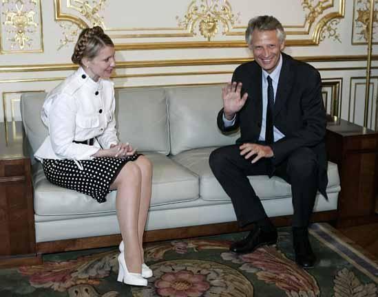 Тимошенко в юбки фото #3