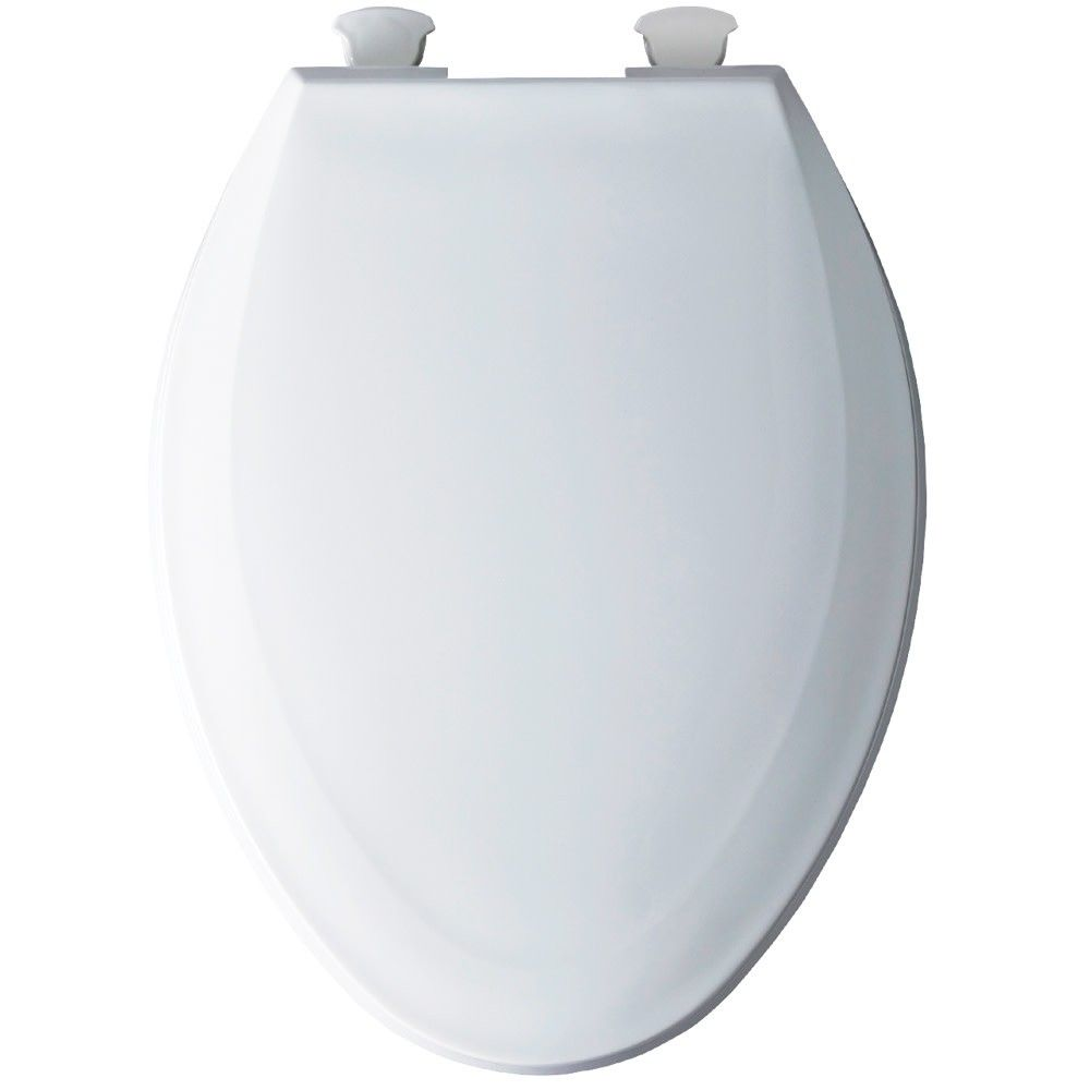 Bemis 1100ec Elongated Plastic Toilet Seat With Easy Clean