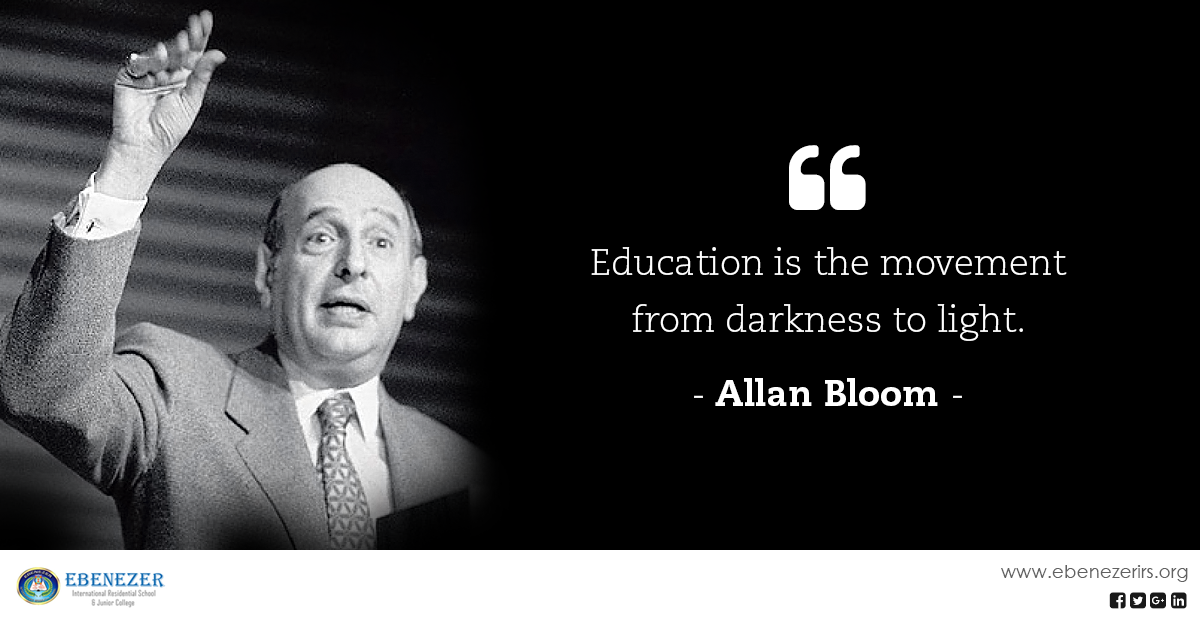 Famous Quote About Education by Allan Boom education