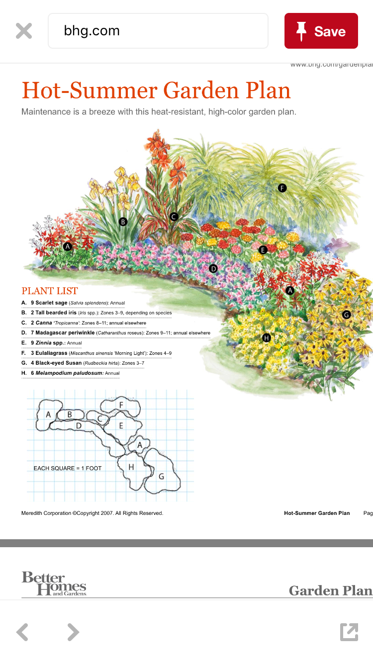 Better Homes And Gardens Planting Plans