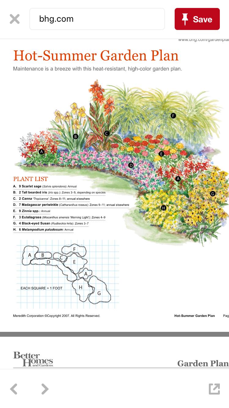 Salir De Facebook Flower Garden Plans Perennial Garden Plans Garden Flowers Perennials