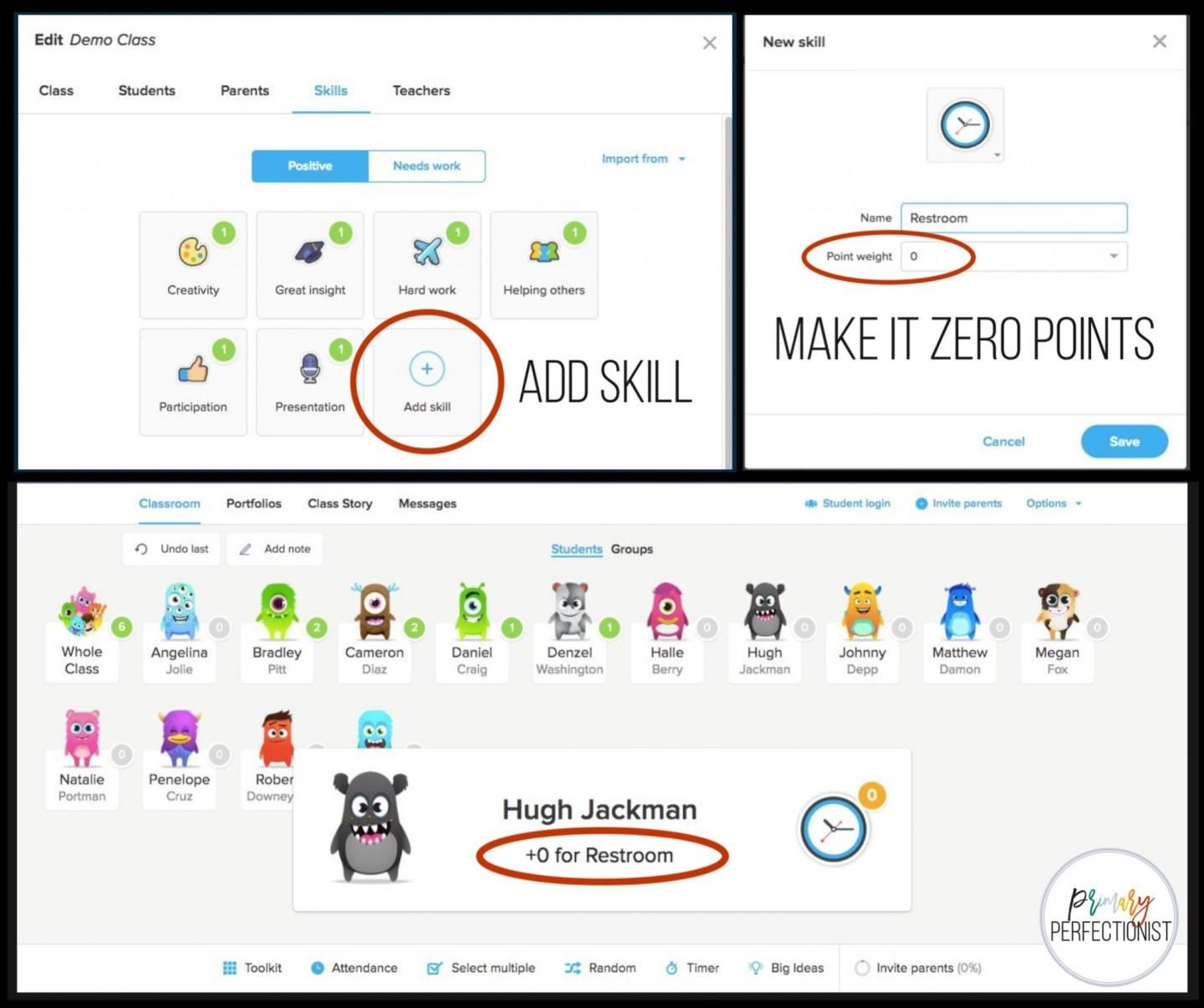 How I Use Class Dojo as a Restroom SignOut Tool (With