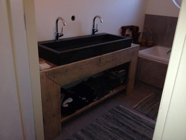 Google be search q steigerhout badkamer meubel