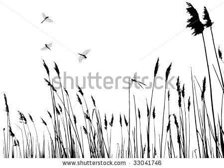 tall grass silhouette. Tall Grass Silhouette - Google Search