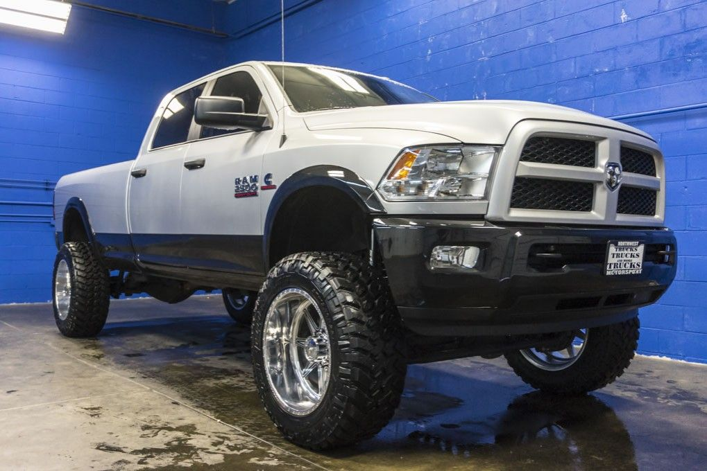 Brand New Fabtech Lifted 2015 Dodge Ram 2500 Outdoorsman 4x4 Cummins