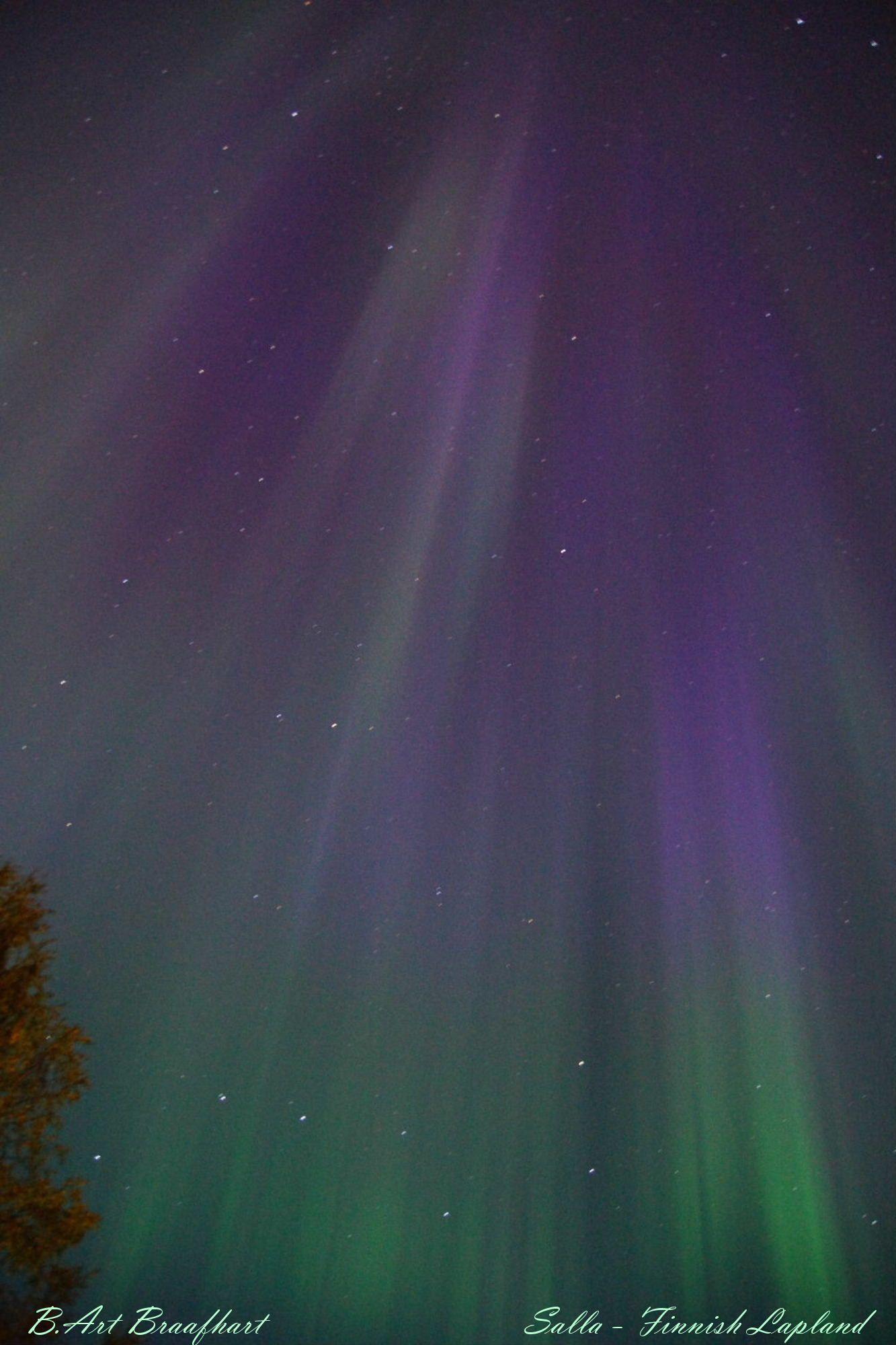 El Universo Hoy. Aurora Boreal en Finlandia.