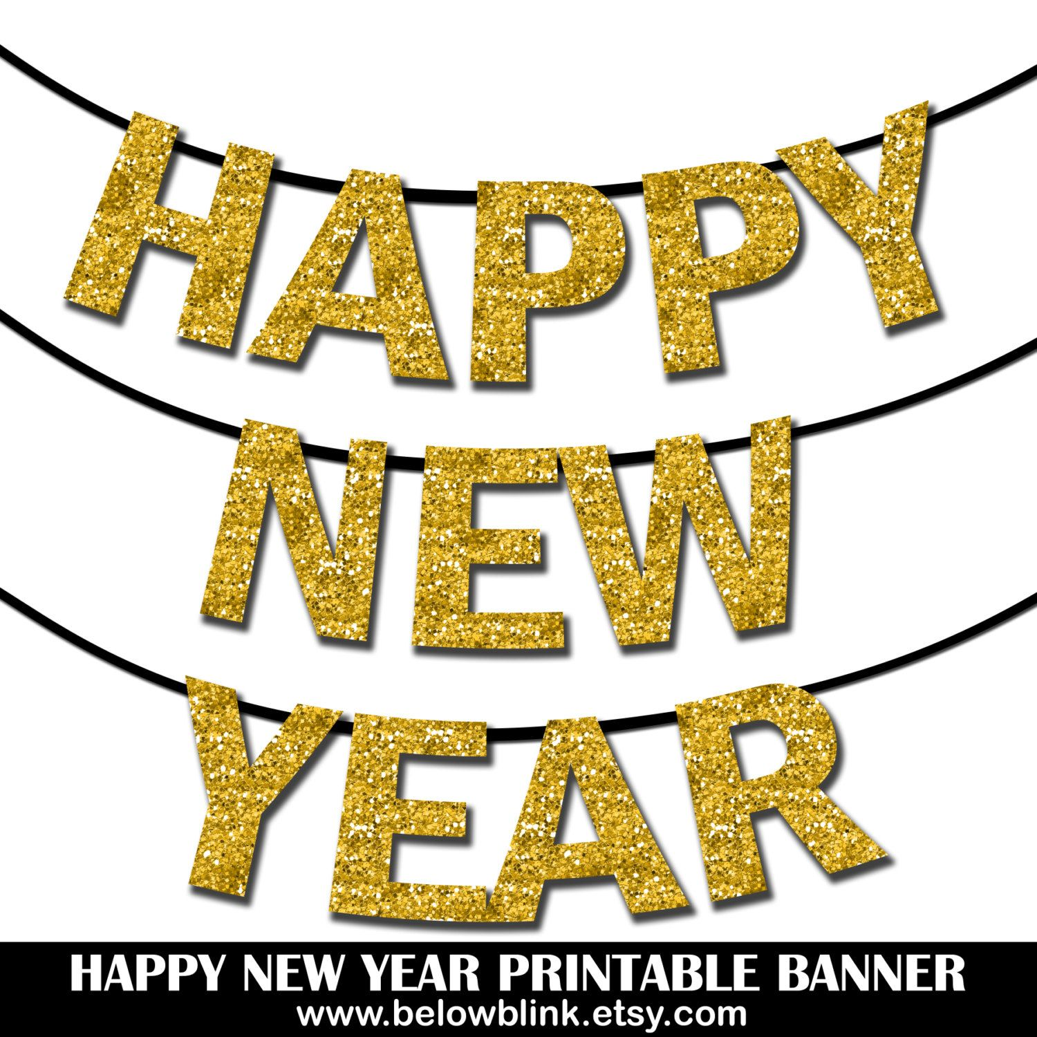 happy new year banner printable photo prop banner new years eve party decorations new years eve banner diy printable banner kit contains printable