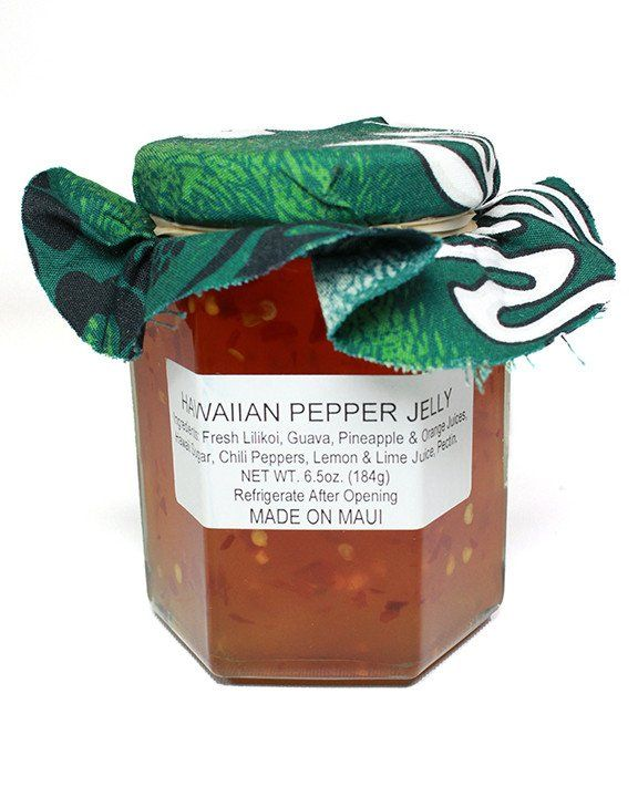 JEFF'S JAMS AND JELLIES - HAWAIIAN PEPPER JELLY - 6.5oz