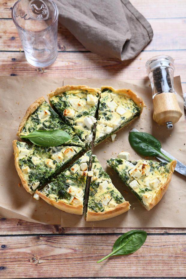 Photo of Italian spinach tart