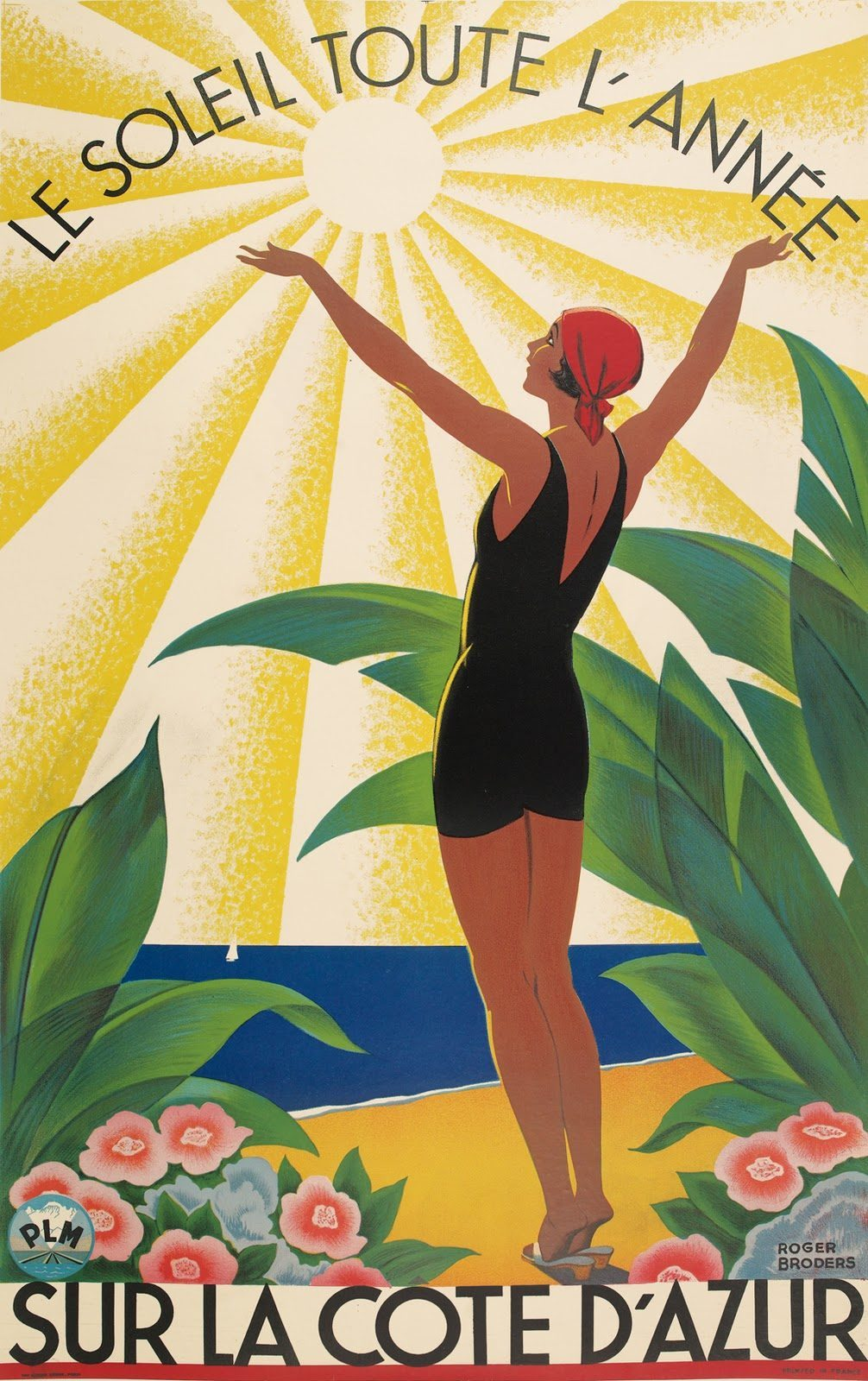 15 Beautiful French Art Deco Travel Posters By Roger Broders Flashbak Art Deco Posters Art Deco Artwork Travel Posters Art Deco