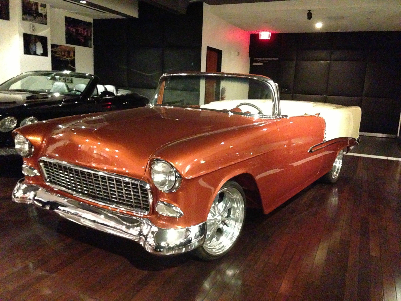 1955 chevrolet convertible Bel Air At Celebrity Cars Las Vegas ...