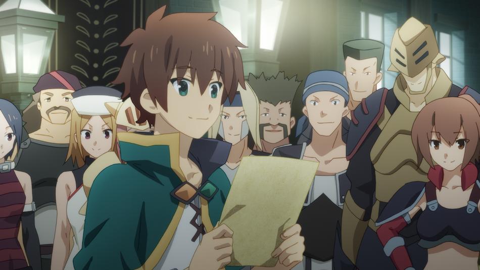 Screenshot from Episode 5 of fantasy comedy anime Konosuba