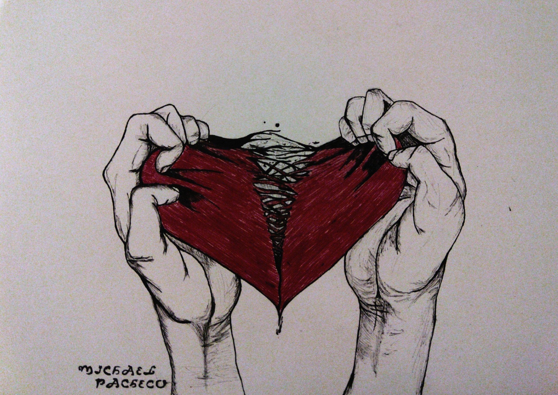 самом рваное сердце картинки усматривают этом