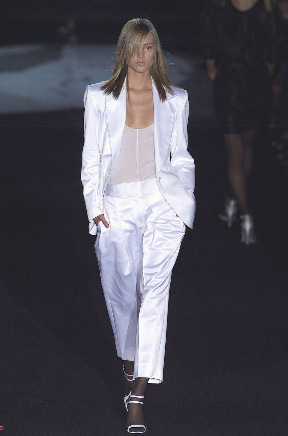 Yves Saint Laurent at Paris Spring 2001