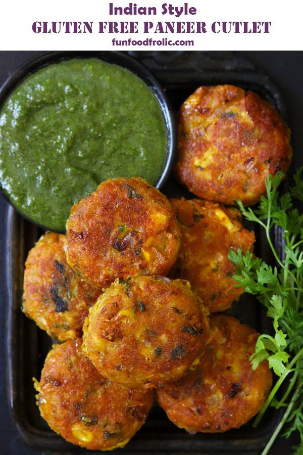 gluten free paneer cutlet recipe fun food frolic recipe in 2020 healthy indian snacks on hebbar s kitchen sweets id=64977