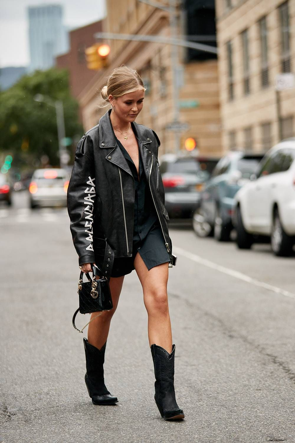 The Latest Street Style From New York Fashion Week #bohostreetstyle