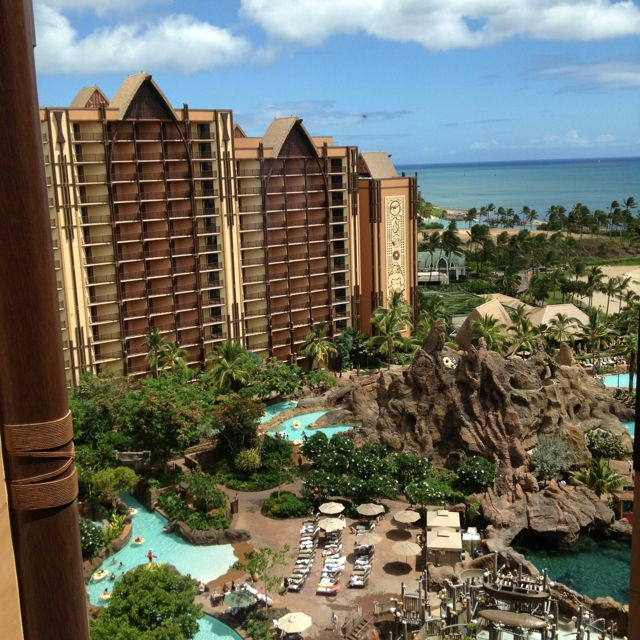 My Pic Of Disney Aulani Hawaiian Resort, July 2012. Oahu