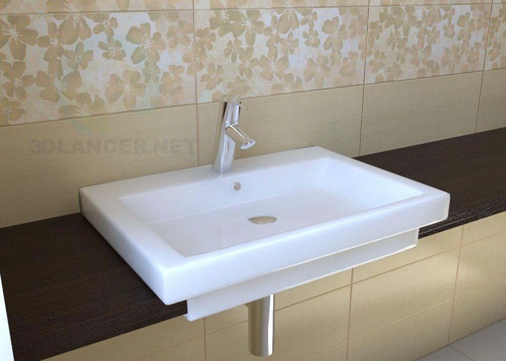 3d Modell Waschbecken Duravit 2nd Floor Waschbecken Boden Und 3d Modelle