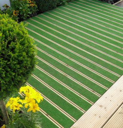 b q grassedeck artificial grass deck board l 2100 w 144. Black Bedroom Furniture Sets. Home Design Ideas